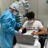 16enne con grave polmonite: primo giorno di scuola dal Mauriziano