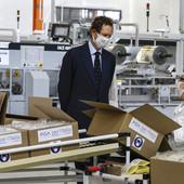 FCA: raggiunto il primo traguardo di 100 milioni di mascherine prodotte
