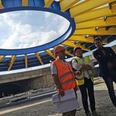 Viabilità, Lingotto: presentata la copertura per la più grande rotonda sotterranea d'Italia: 52 metri di diametro e una cupola d'acciaio di 700 tonnellate