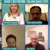 Covid e restrizioni: italiani quasi stufi