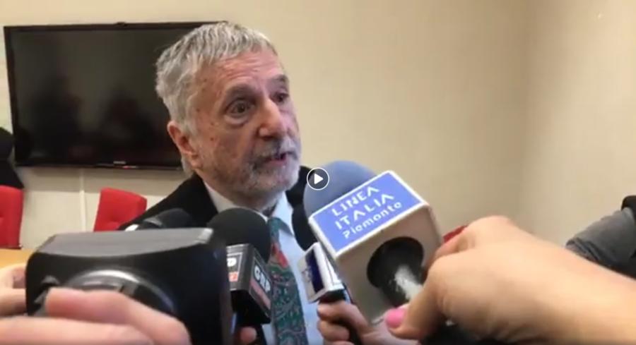 Conferenza stampa del prof. Marco Ponti