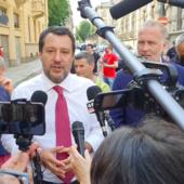 Salvini presenta il candidato del centrodestra a Torino Damilano