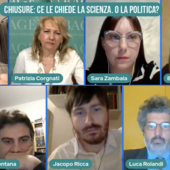 CHIUSURE: CE LE CHIEDE LA SCIENZA. O LA POLITICA?