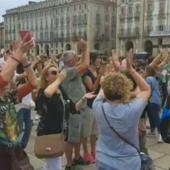 29 maggio 2021, No Paura Day in piazza Castello a Torino