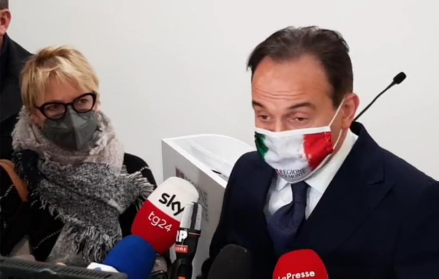 Regione Piemonte, presidente Cirio: conferenza stampa di inizio 2021
