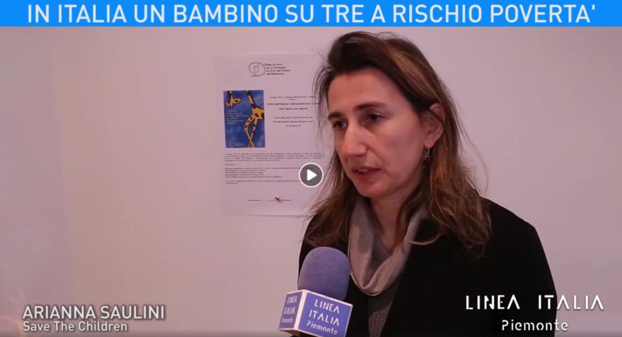 In Italia un bambino su tre a rischio povertà