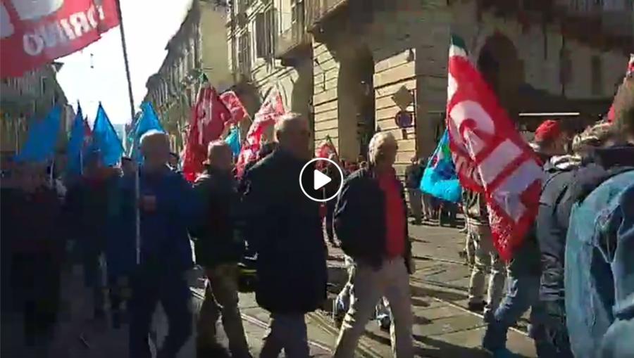 Manifestazione 1°Maggio Torino