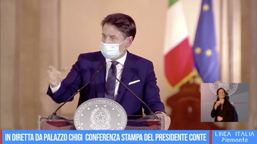 Conte presenta il nuovo Dpcm