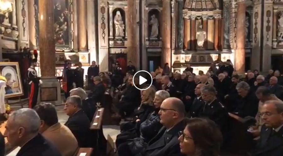 Messa nella chiesa di San Lorenzo a Torino per la Virgo Fidelis, patrona dei carabinieri