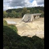Piemonte, crollato il ponte di Romagnano Sesia. 17 dispersi per il maltempo, Mattarella chiama Cirio