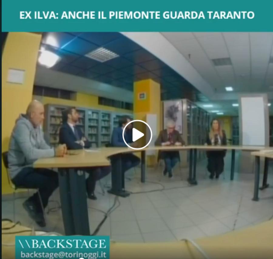 Ex Ilva: anche il Piemonte guarda Taranto