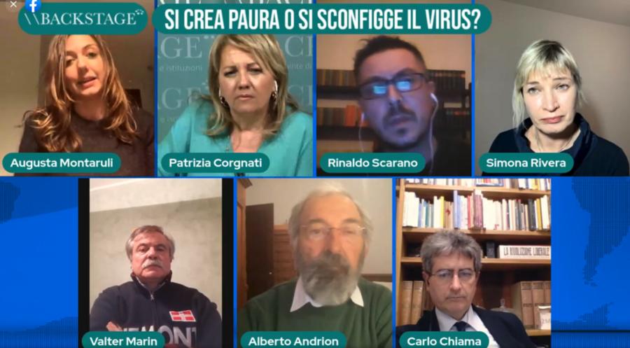 SI CREA PAURA O SI SCONFIGGE IL VIRUS?