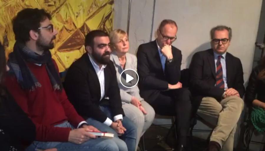 """Conferenza stampa di presentazione del nuovo simbolo di """"Liberi Uguali Verdi"""""""