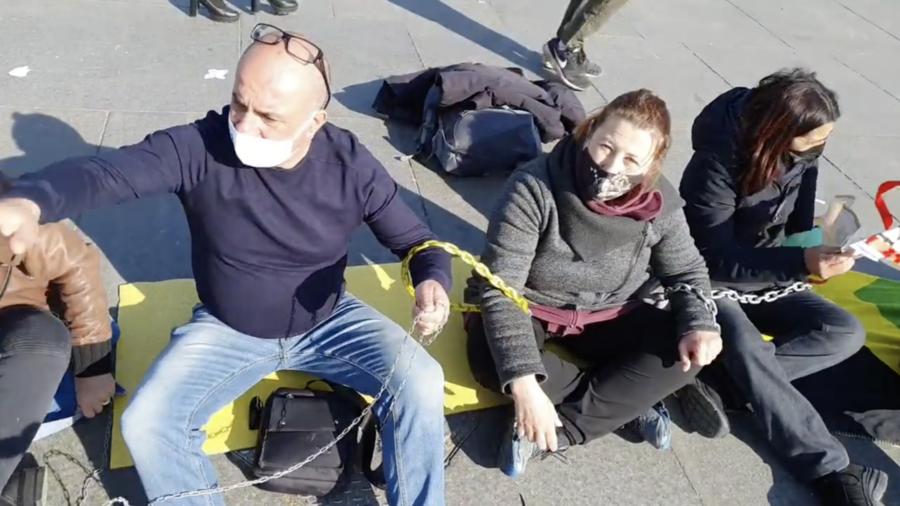 Ancora proteste degli ambulanti a Torino