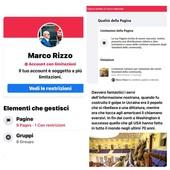 """Rizzo: """"Facebook vuole decidere cosa devo scrivere: intollerante violazione costituzionale"""""""