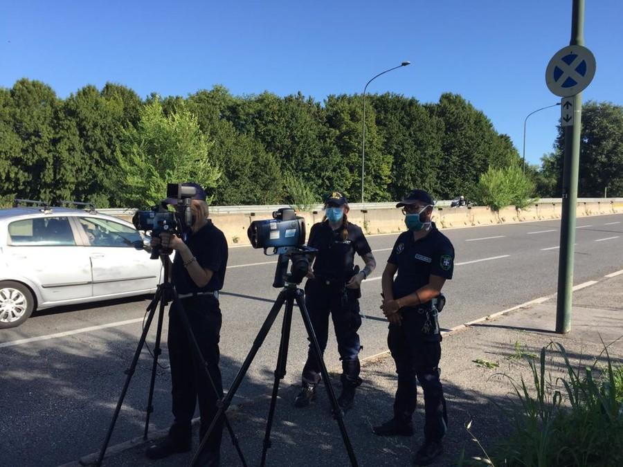 In moto a 167 km/h: continuano i controlli della Polizia Municipale torinese