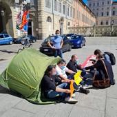 Ex Embraco, da oggi presidio permanente in piazza Castello a Torino