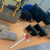 Torino, piazza Foroni: sequestro di abbigliamento e marchi contraffatti