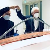 Garessio avrà un nuovo ponte, progetto di Giugiaro, gli studenti scelgono il colore